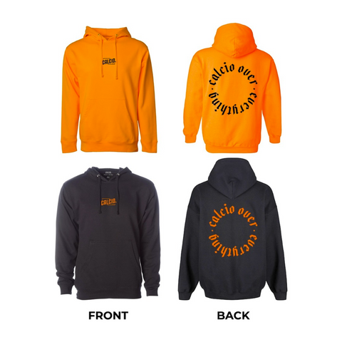 Black/Orange Calcio Over Everything Hoodie