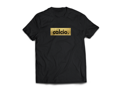 Limited Edition Gold Calcio logo