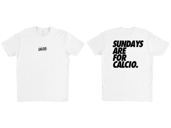 Black and White Sundays Are For Calcio