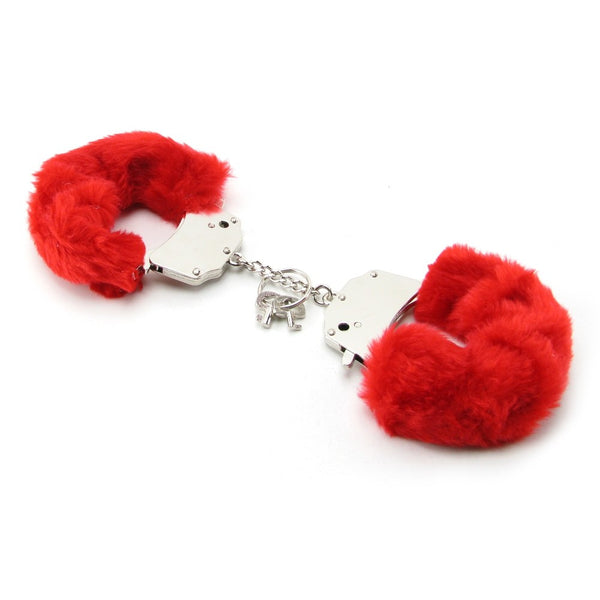 Fetish Fantasy Furry Cuffs in Red