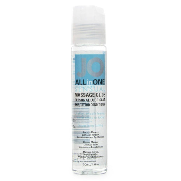 All in One Unscented Massage Glide in 1oz/30ml