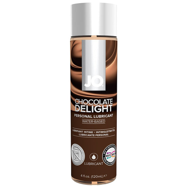 H2O Chocolate Delight Flavored Lubricant in 4oz/120ml