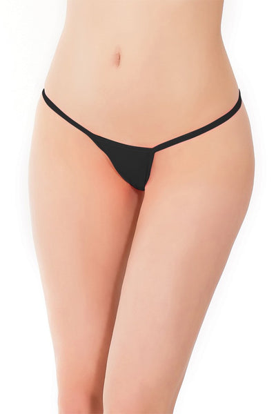 Classic Black G-String in OSXL