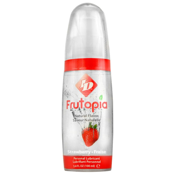 Frutopia Natural Flavored Lube 3.4oz/100mL in Strawberry