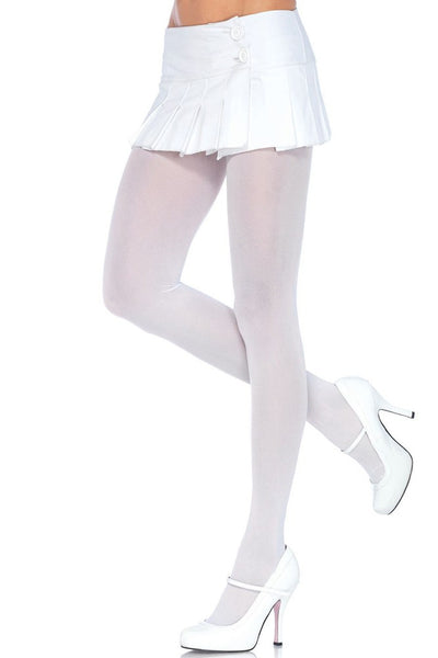 Pefect Pair of White Nylon Tights in OS