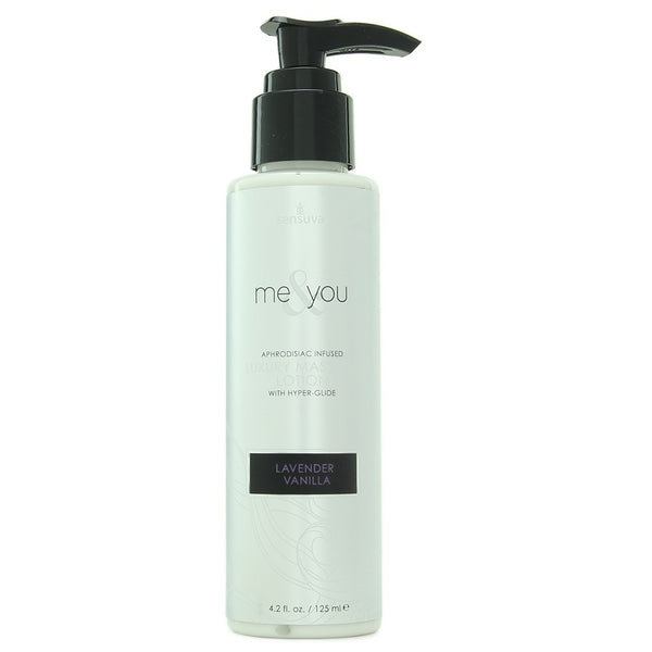 Me & You Luxury Massage Lotion 4.2oz in Lavender Vanilla