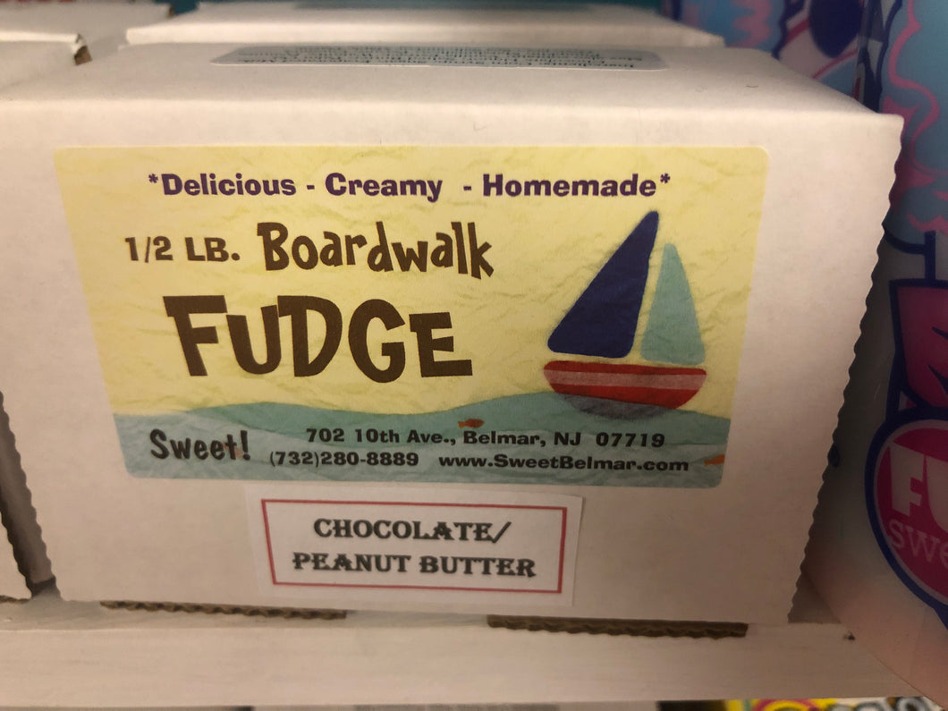 Boardwalk Fudge - Chocolate Peanut Butter