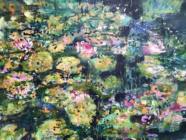 Workshop: Impressionist Waterlilies, August 4