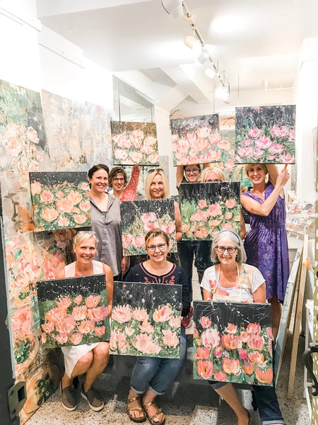 Workshop: Abstract Peonies March 28