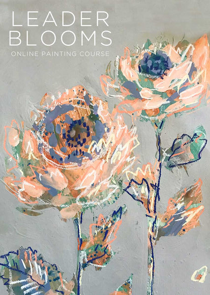 Online Painting Course: Leader Blooms