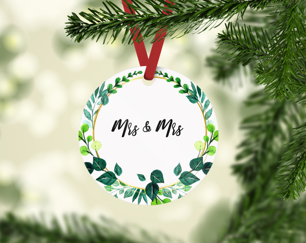 Mr & Mrs Ornament