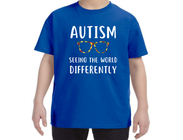 Autism Seeing The World Differently - Autism Awareness Shirt