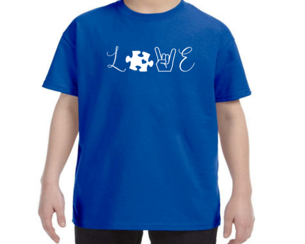 Love - Autism Awareness Shirt