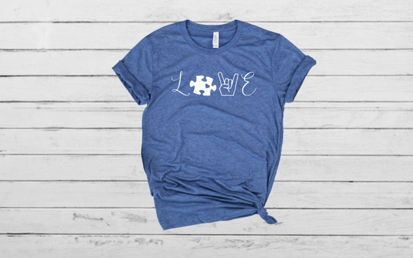 Love-  Autism Awareness Shirt