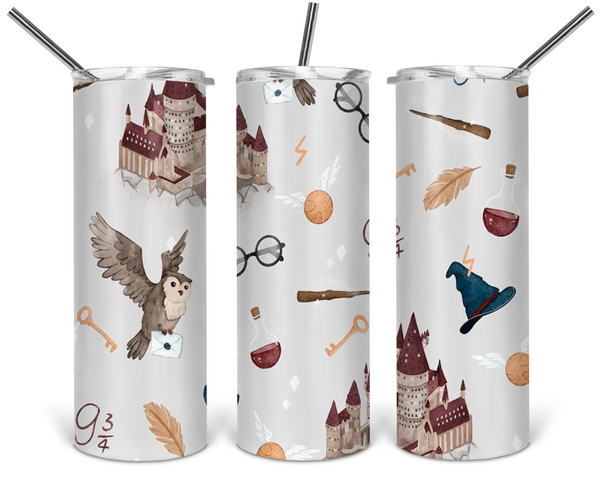 Harry Potter Tumbler - 20oz