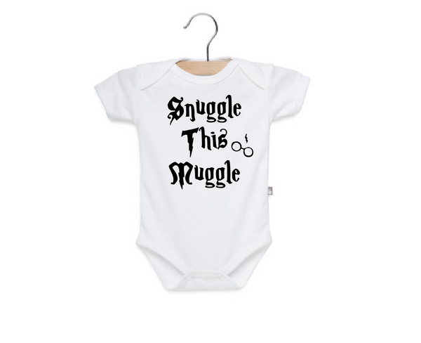 Snuggle this muggle, harry potter baby clothes