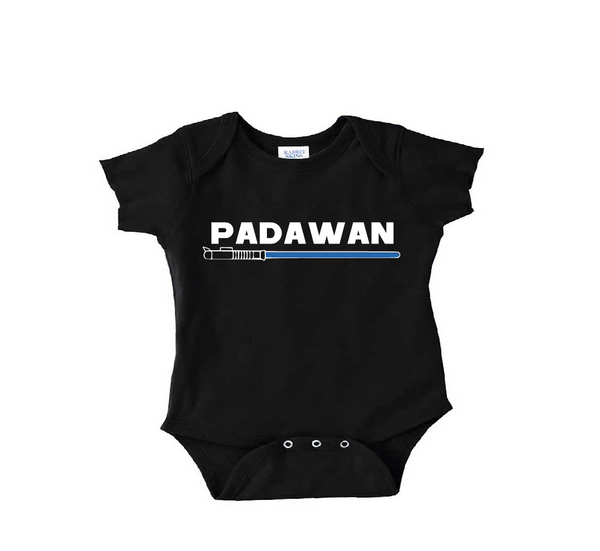 Padawan Bodysuit Toddler shirt or Youth Shirt