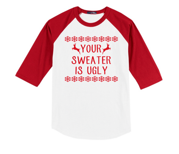 Ugly Christmas Raglan