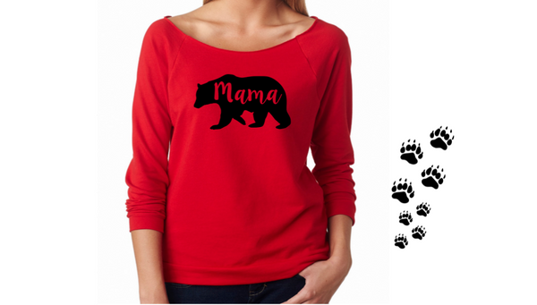 Mama Bear French Terry Raglan