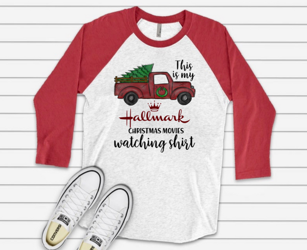 Hallmark Christmas Movie Watching Shirt