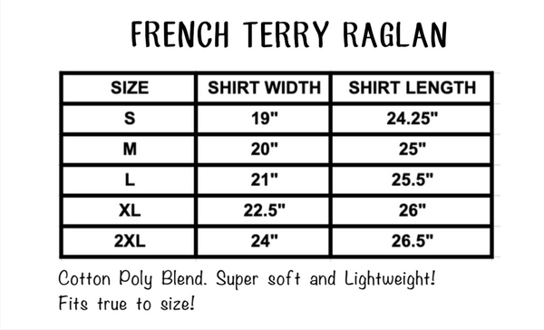 Mom Life French Terry Raglan