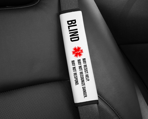 Seat Belt Cover - Medical