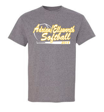 Adrian/Ellsworth Girls Softball TShirt