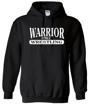 F/MCC Warrior Wrestling Gildan Hooded Sweatshirt