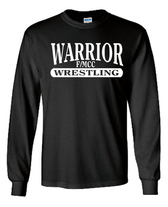 F/MCC Warrior Wrestling Gildan Long Sleeve Shirt