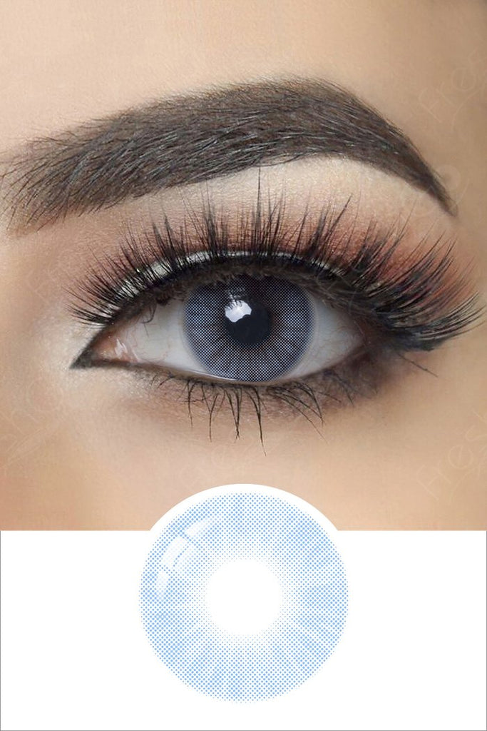 FRESHGO HIDROCOR AZUL COSMETIC COLORED CONTACT LENSES FREE SHIPPING - EyeQ Boutique