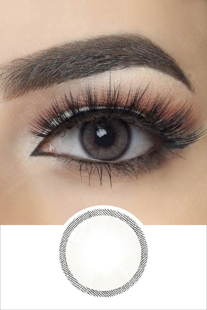 FRESHGO HIDROCHARME GRAY (GREY) (ICE) COSMETIC COLORED CONTACT LENSES FREE SHIPPING