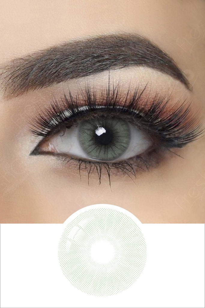 FRESHGO COPACABANA GREEN COSMETIC COLORED CONTACT LENSES FREE SHIPPING - EyeQ Boutique