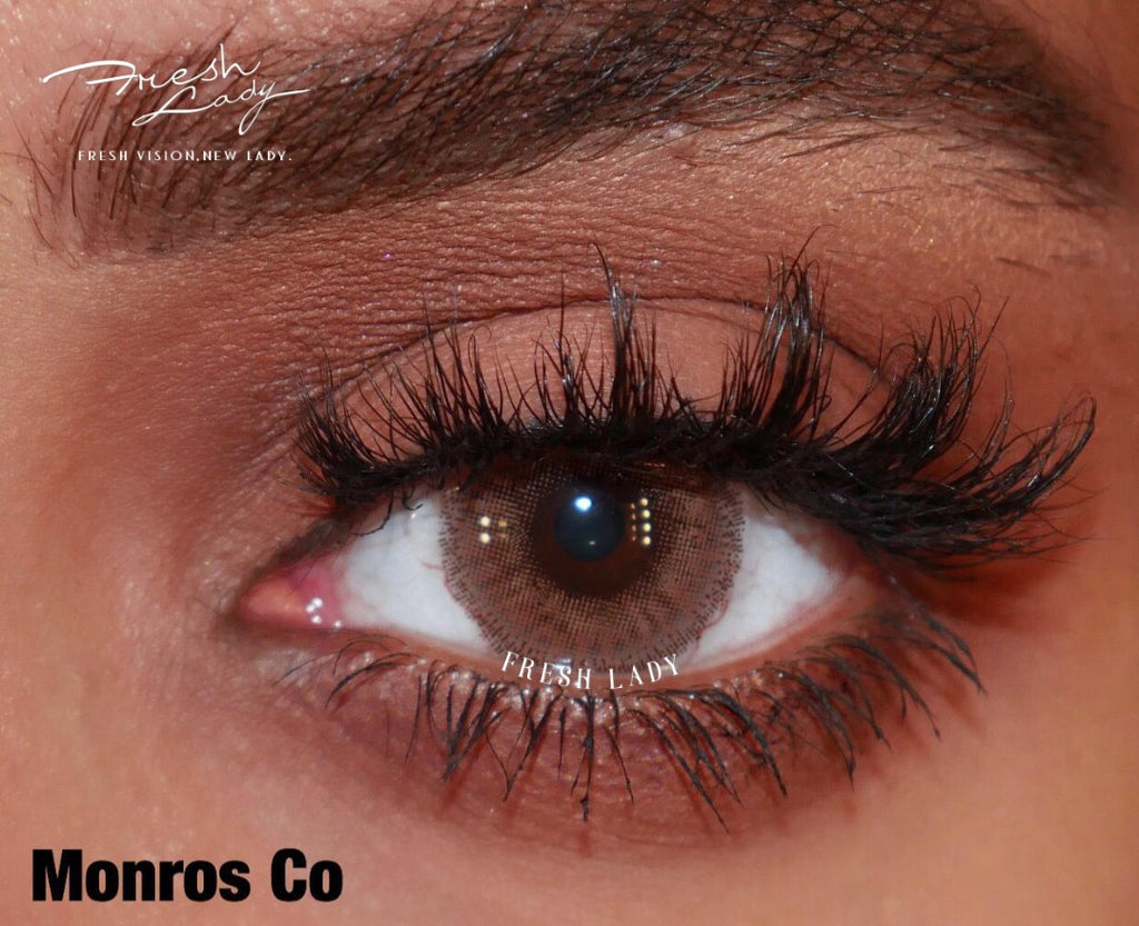 FRESHLADY MONROS CO COLORED CONTACT LENSES COSMETIC FREE SHIPPING - EyeQ Boutique