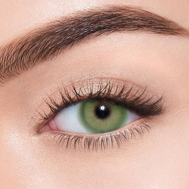 FRESHLADY PIXIE GREEN COLORED CONTACT LENSES COSMETIC FREE SHIPPING - EyeQ Boutique