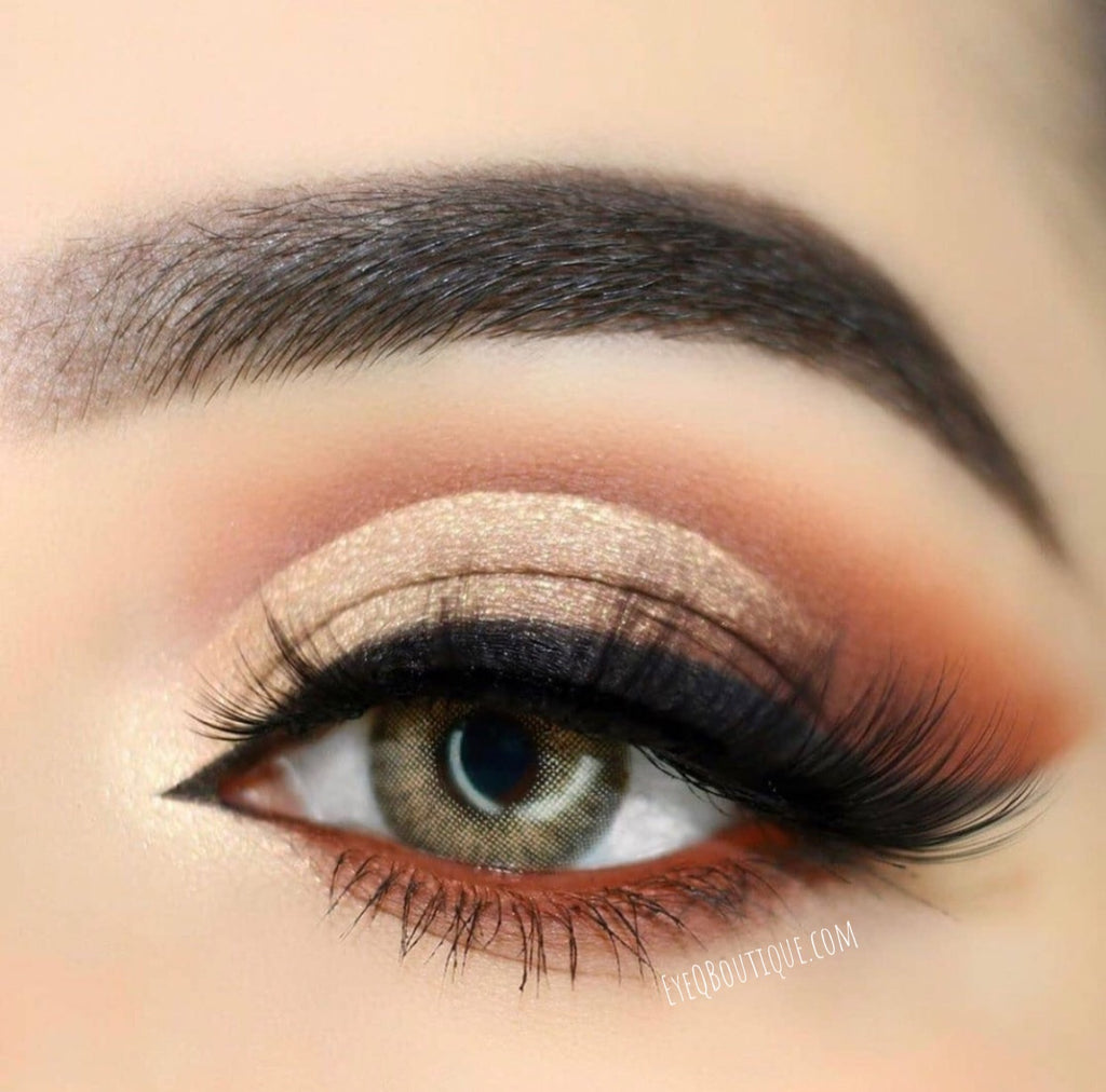 FRESHLADY WILDCAT BROWN COLORED CONTACT LENSES COSMETIC FREE SHIPPING - EyeQ Boutique