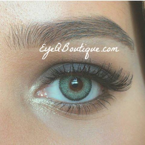 FRESHTONE EMERALD GREEN COSMETIC COLORED CONTACT LENSES FREE SHIPPING - EyeQ Boutique