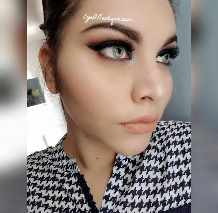 FRESHTONE SUPER NATURALS SKY GRAY (GREY) COSMETIC COLORED CONTACT LENSES FREE SHIPPING (HIDROCOR) - EyeQ Boutique
