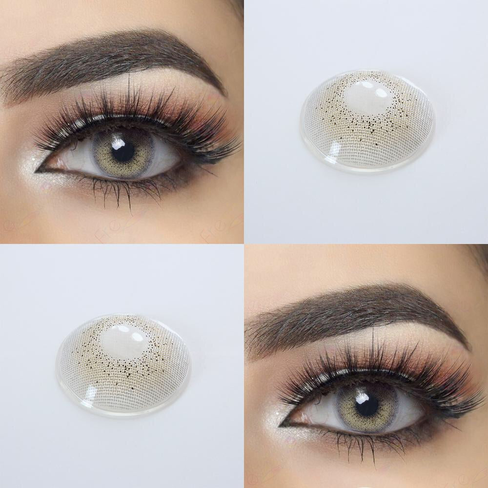 FRESHGO OCEAN SERIES SKY GRAY (GREY) COSMETIC COLORED CONTACT LENSES FREE SHIPPING - EyeQ Boutique