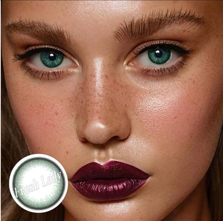 FRESHLADY OLIVIA BUBBLE COLORED CONTACT LENSES COSMETIC FREE SHIPPING - EyeQ Boutique