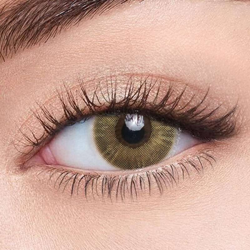 FRESHLADY MAGIC BROWN COLORED CONTACT LENSES COSMETIC FREE SHIPPING - EyeQ Boutique