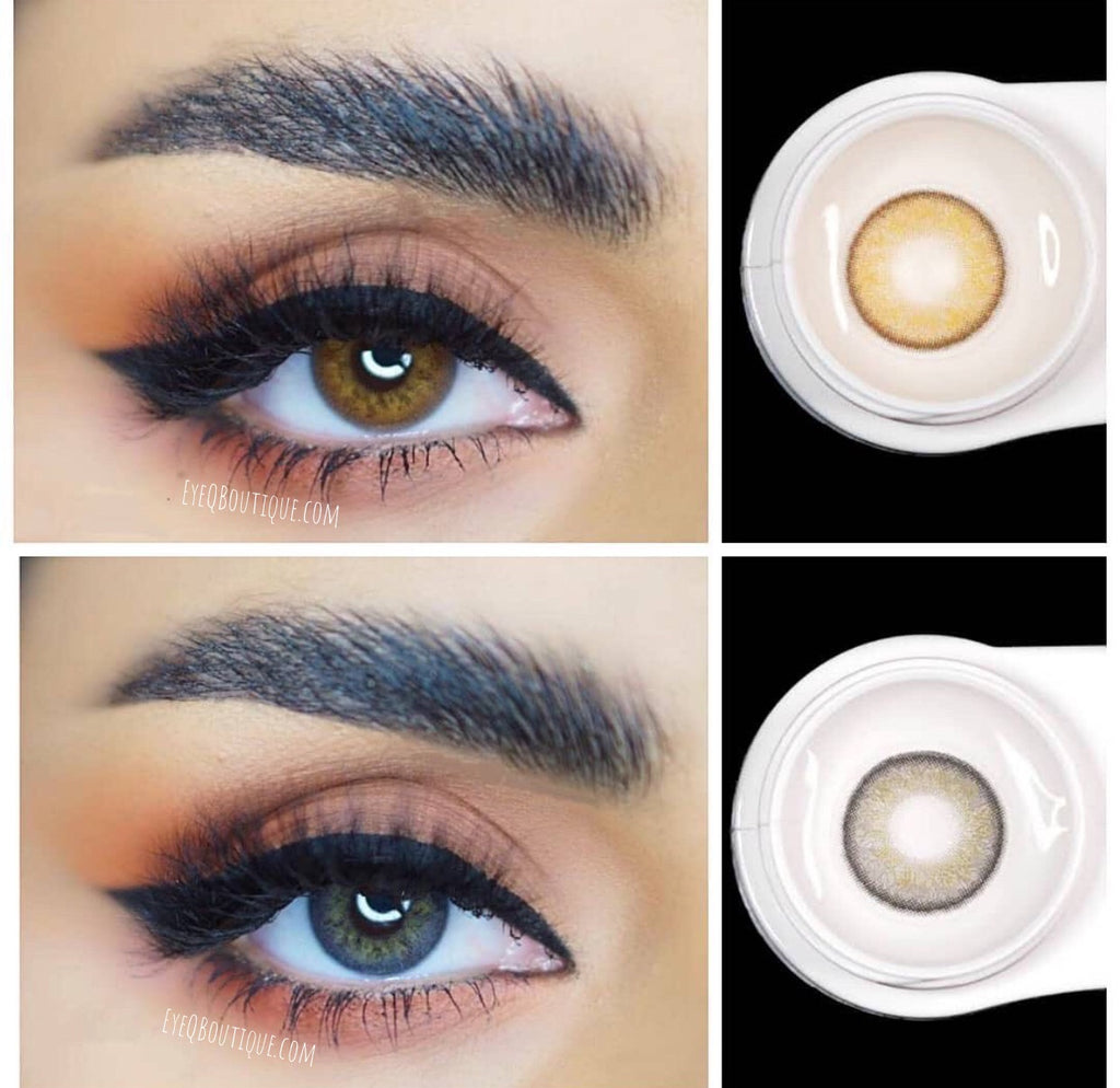 FRESHLADY RUSSIAN GRAY (GREY) COLORED CONTACT LENSES COSMETIC FREE SHIPPING - EyeQ Boutique