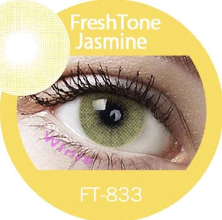 FRESHTONE SUPER NATURALS JASMINE COSMETIC COLORED CONTACT LENSES FREE SHIPPING (HIDROCOR) - EyeQ Boutique