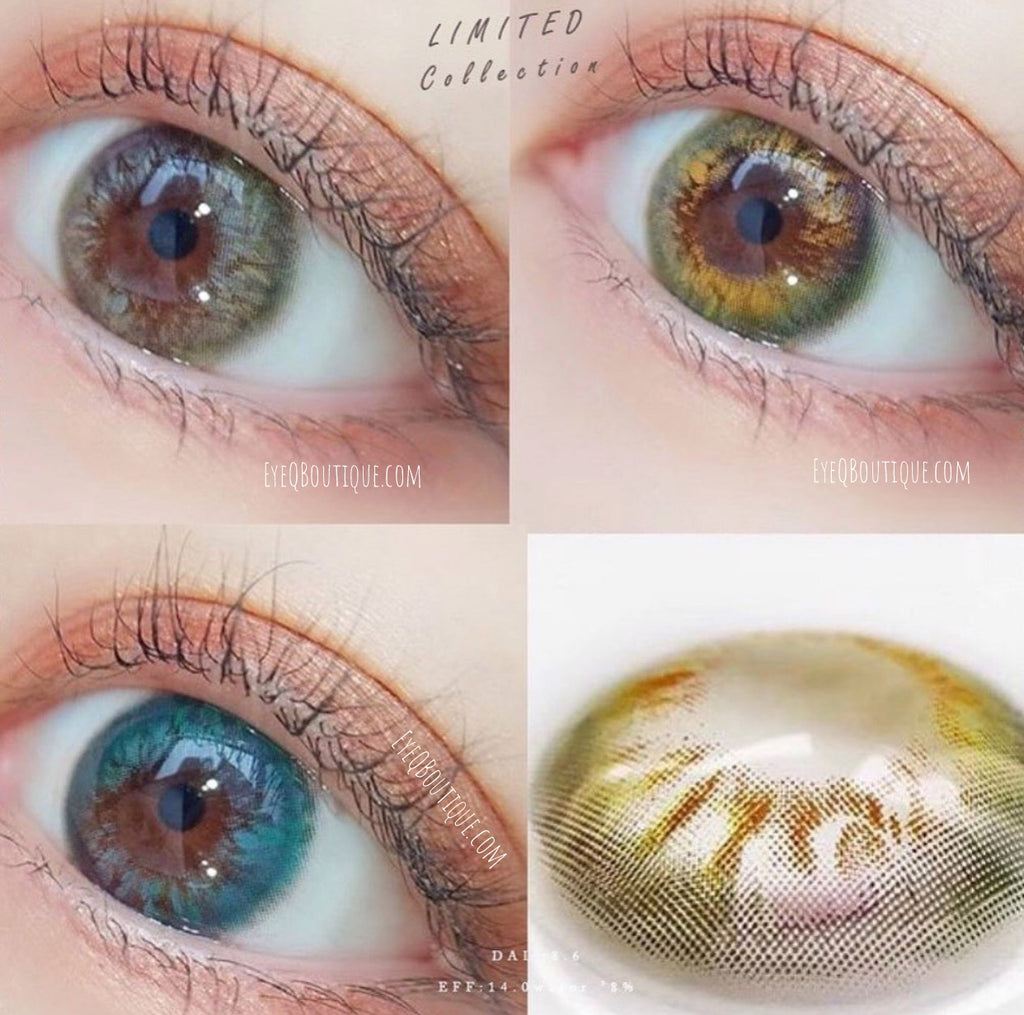 FRESHLADY RIO GRAY COLORED CONTACT LENSES COSMETIC FREE SHIPPING - EyeQ Boutique