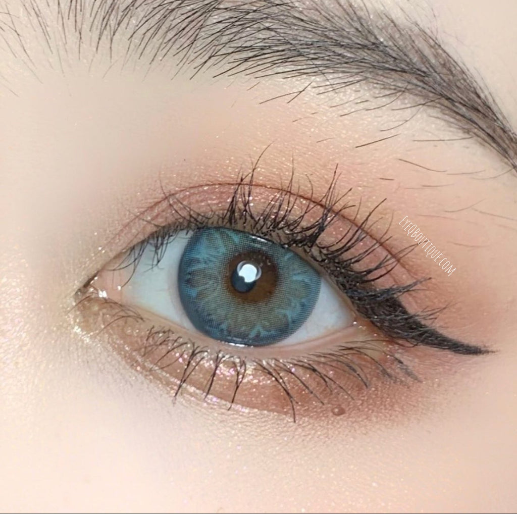 FRESHLADY GEM GREEN COLORED CONTACT LENSES COSMETIC FREE SHIPPING - EyeQ Boutique