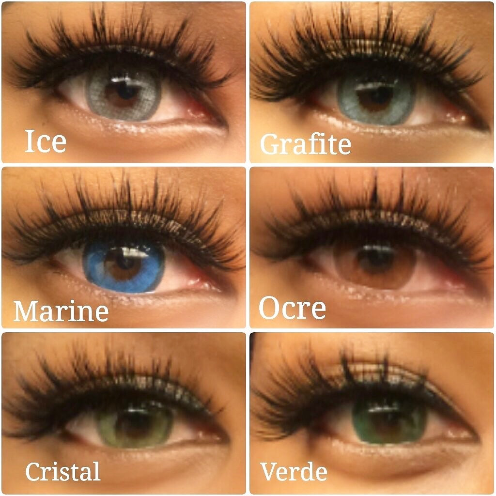 FRESHGO HIDROCHARME BROWN (OCRE) COSMETIC COLORED CONTACT LENSES FREE SHIPPING - EyeQ Boutique