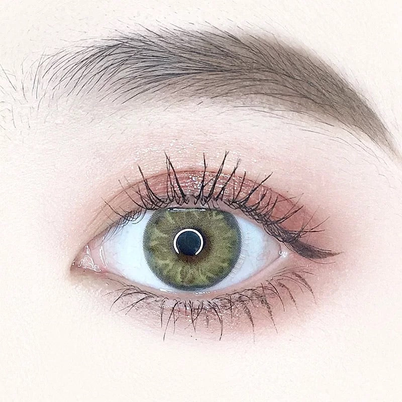 FRESHLADY GEM BROWN COLORED CONTACT LENSES COSMETIC FREE SHIPPING - EyeQ Boutique