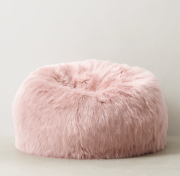 Ultra-Cozy Oversize Shag Bean Bag Chair & Ultra-Cozy Oversize Shag Bean Bag Chair u2013 Free Earth Trading Co