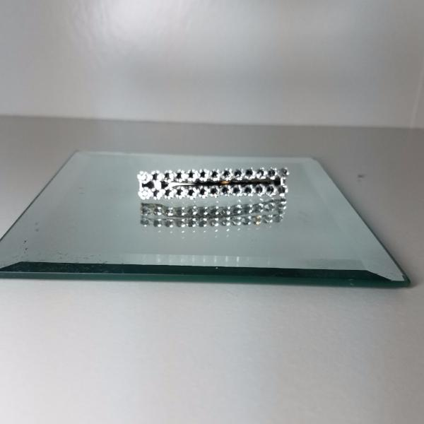 Swarovski Crystal Double Row Barrette