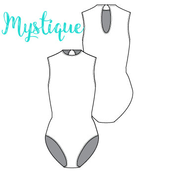 ReShapable Looks Keyhole Leotard Mystique Colors