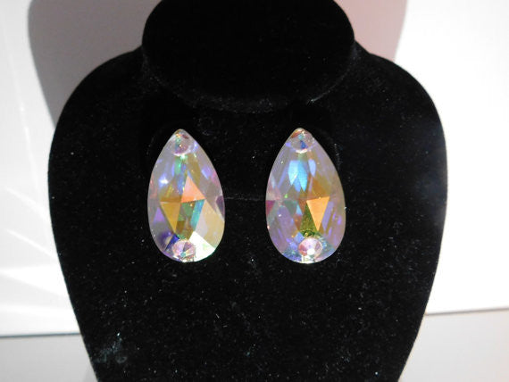 Swarovski Crystal Teardrop Earrings